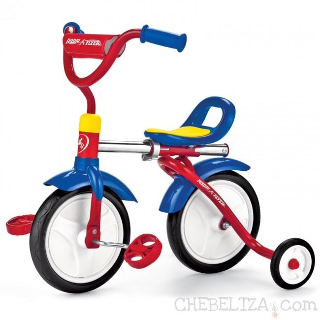 Otroška kolesa, zabavno in koristno?