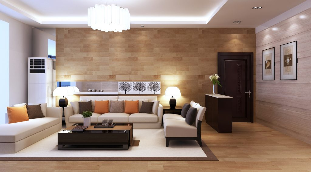 Apartment wall living room: interior design for apartment living ...