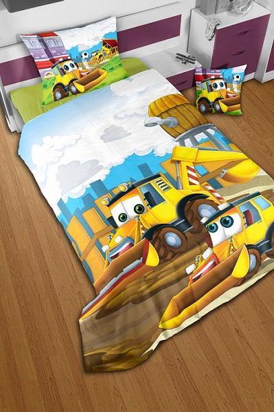Otroška posteljnina z motivi