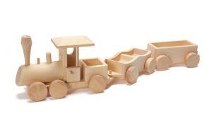 Leseni vlakci za otroke
