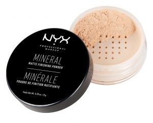 NYX Professional Make up zaključni puder - Mineral Finishing Powder – Light/Medium