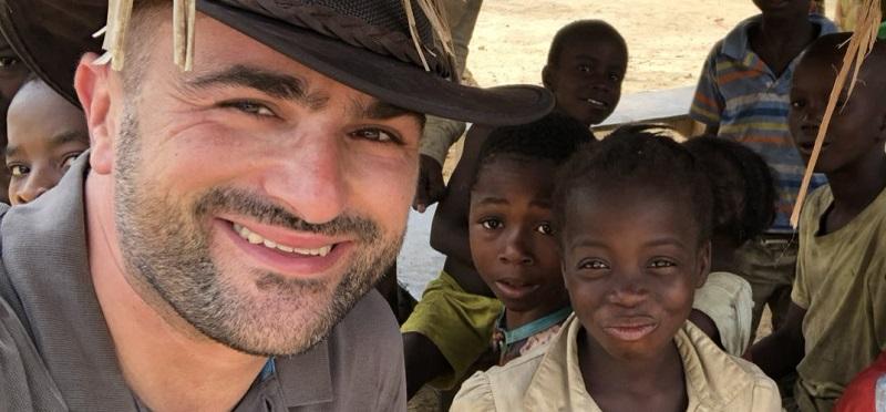 Podjetnik Uroš Mlakar močne vezi z Afriko