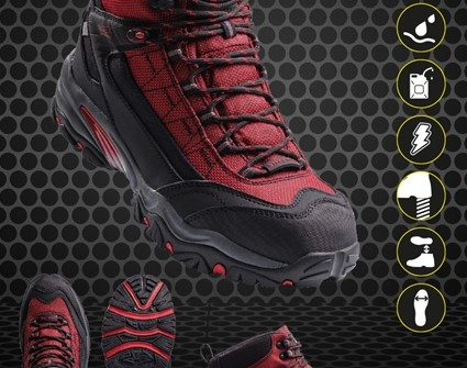 Zaščitna delovna oprema za noge